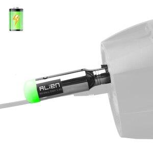 Image 5 - Alienígena 2.4g ismo dmx512 dfi controlador, recarregável, receptor sem fio, transmissor de bateria embutido, 3 pinos xlr para dmx luzes do palco