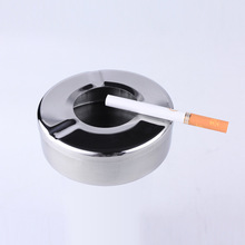 Ashtray Lid Stainless-Steel Smoking-Accessories Home-Gadgets Creative New Practical