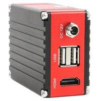 Mejor 2019 FHD SONY Sensor 1080 P 2 K HDMI Microscopio de medición Industrial Cámara inteligente