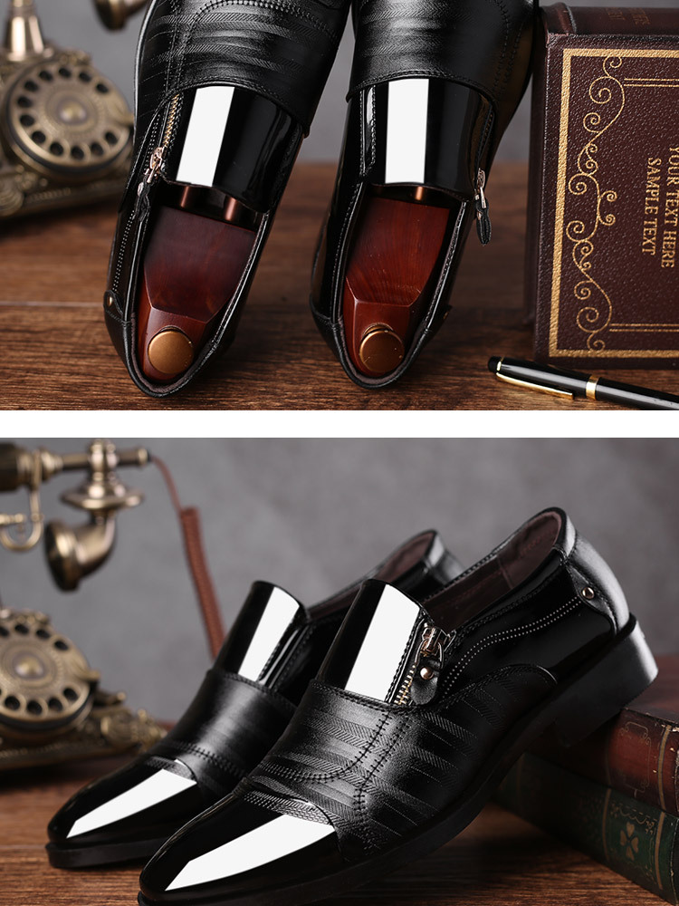 Luxury Business Oxford Leather Shoes 26