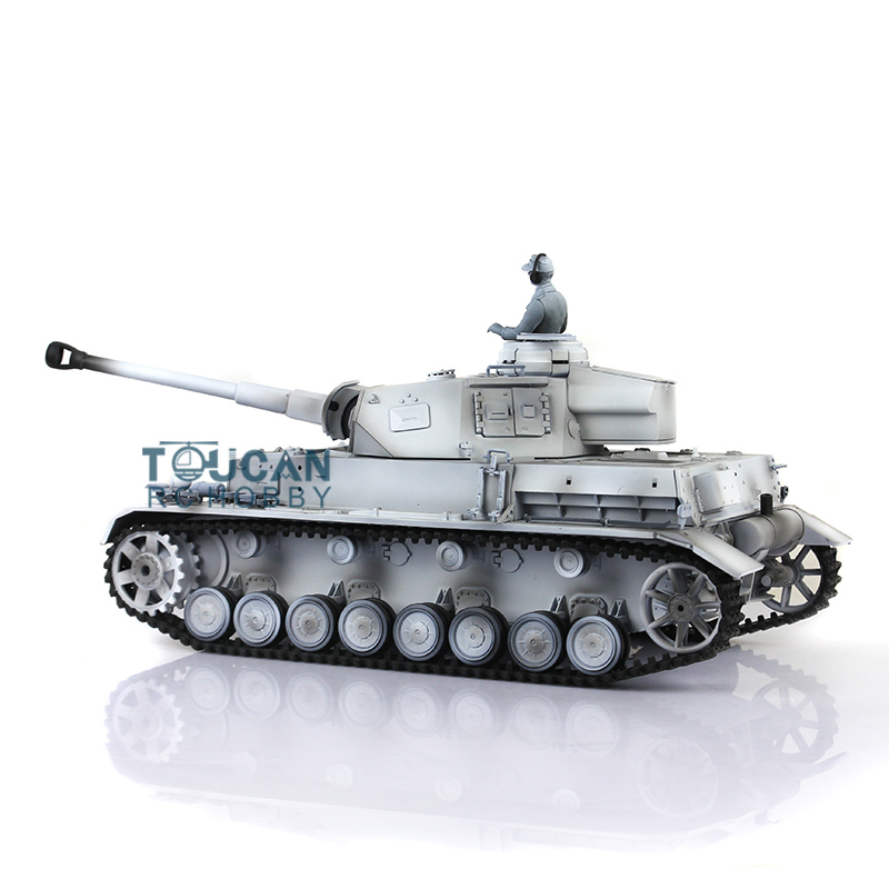 1/16 Scale HengLong Winter Snow German Panzer IV F2 RC Tank Model Metal Tracks Sprockets Wheels 3859 wooden handmade dollhouse miniature diy kit caravan
