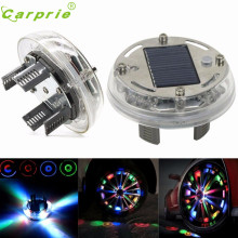 New Arrival 4 Mode 12 LED Car Auto Solar Energy Flash Wheel Tire Light Lamp Decoration 1PC Ap26