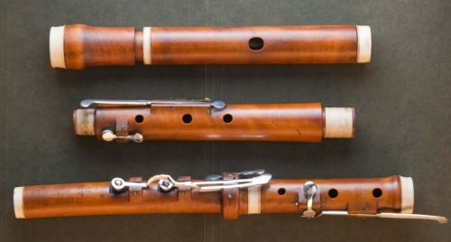 Koch Stephan antique wooden 9 key flute by stephan koch vienna c 1825