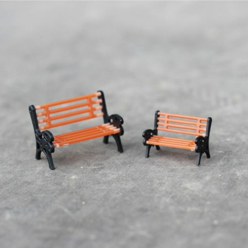sale~1Pcs/brown chair/doll house//miniatures/lovely cute/fairy garden gnome/moss terrarium decor/crafts/bonsai/ DIY/c090-91