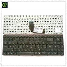 מסגרת רוסית מקלדת עבור DNS TWC K580S i5 i7 D0 D1 D2 D3 K580N K580C K620C AETWC700010 MP 09R63SU 920 RU שחור עם מסגרת