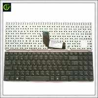 Frame Russian Keyboard for DNS TWC K580S i5 i7 D0 D1 D2 D3 K580N K580C K620C AETWC700010  MP-09R63SU-920 RU Black with frame
