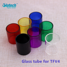 Glotech Glass Tube Colorful Pyrex  Glass Tube Replacement tube for TFV4 tank atomizer 7 colors available