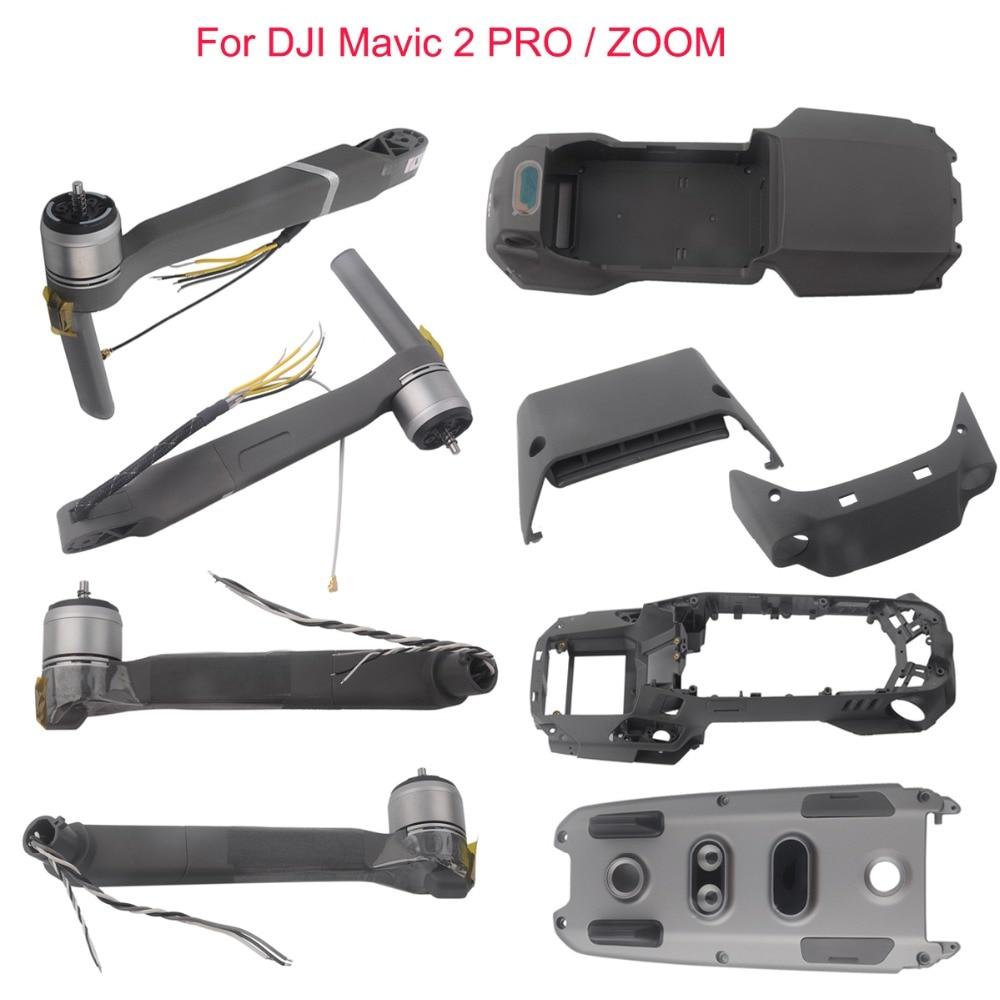 For DJI Mavic 2 Pro/Zoom Upper /Bottom Cover Shell /Middle Frame/Front Back Rear Left Right Motor Arm Legs Assembly DJ0065