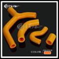 Silicone Radiator Coolant Reinforced Hoses Kit For KTM EXC-R 450 07-10 MX Enduro Dirt Bike Racing Offroad Motorcycle