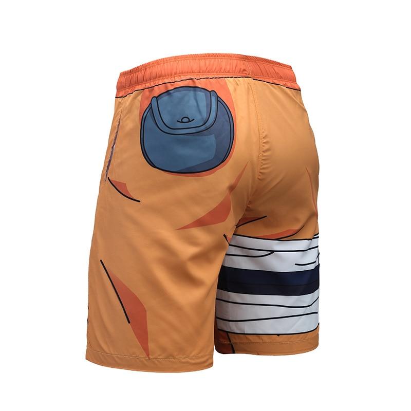 2018 Summer 3D Print Board Shorts Anime Naruto Akatsuki Kakashi Casual Short Pants Sweat Pockets Cosplay Jogger Fitness Trousers