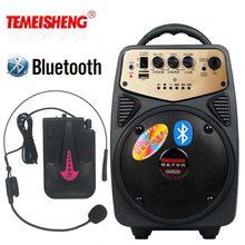 Bluetooth Динамик высокое Мощность 20 Вт louderspeaker чтобы повесить Беспроводной микрофон открытый Портативный Динамик голос amplifers колонка
