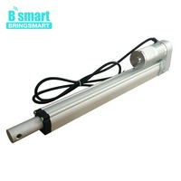 Bringsmart 250mm Stroke SRA A 12V DC Drive Pusher 150KG Load 12 48V DC Heavy Duty 1500N Tubular Electric Linear Actuator