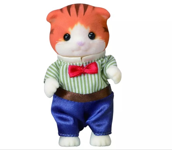 Sylvanian Family Maple Cat family Figures Anime Cartoon figures dolls funny lovely Child gift in Action Toy Figures from Toys Hobbies