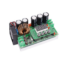 600W high power DC-DC adjustable boost module digital display digital DC constant voltage constant current power supply все цены