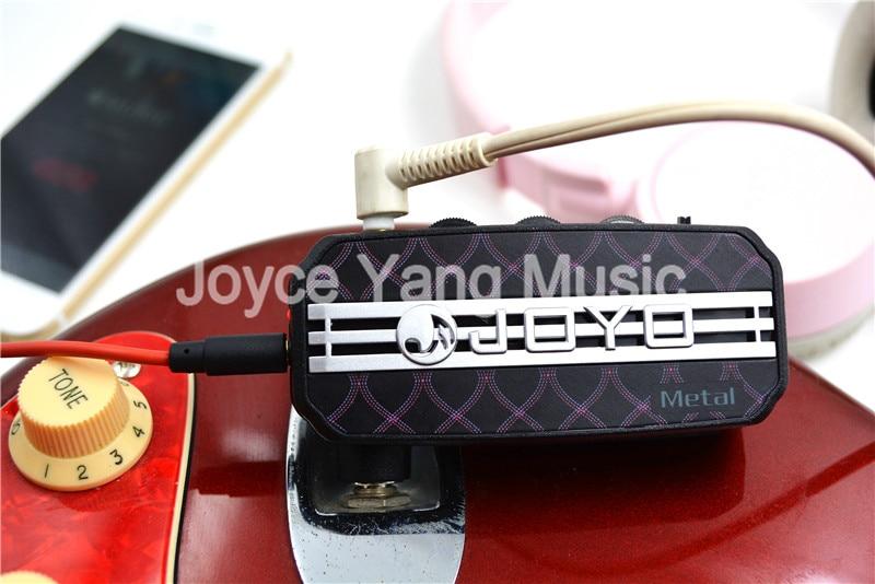JOYO JA-03 Mini Pocket Guitar Amplifier 6 Effect Metal/Lead/English Channel/Super Lead/Tube Drive/Acoustic joyo ja 03 english channel mini guitar amplifier black 2 x aaa