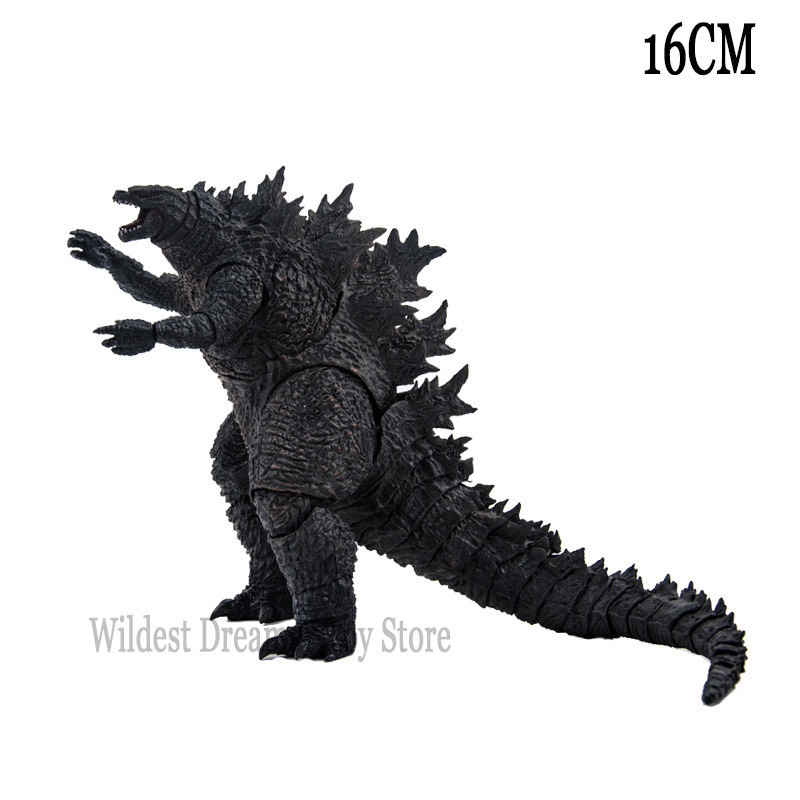 Godzilla Gojira King Of The Monsters Action Figure Toys SHF Juguetes Collectible Anime Figura Gojira Movie Figurine 16CM