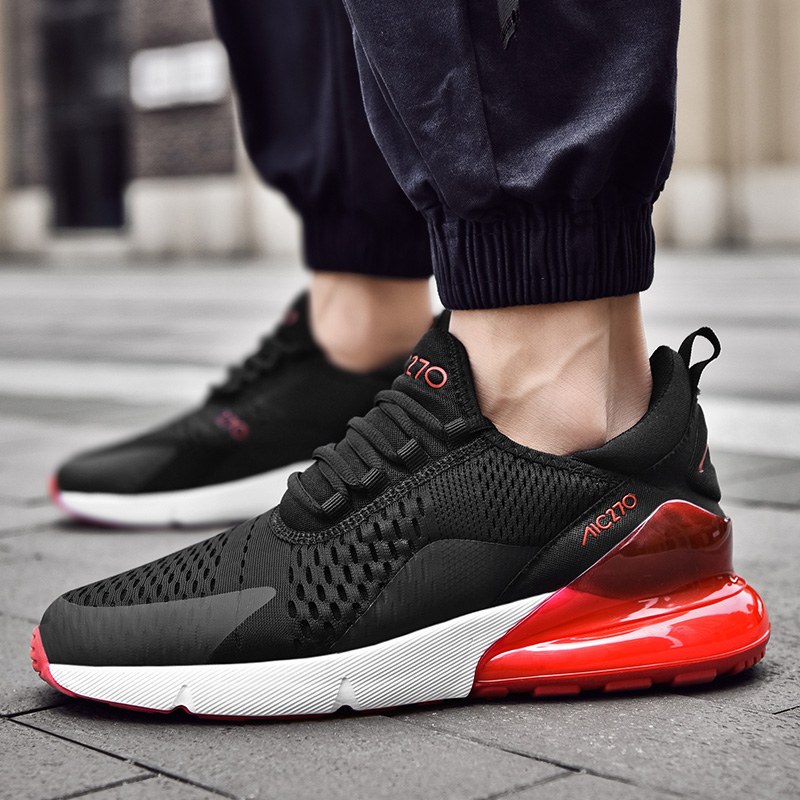 Running Shoes Men Sneakers Breathable Zapatillas Hombre <font><b>270</b></font> Couple Fitness Sneakers Women Gym Trainers Outdoor Sport Shoes Men image