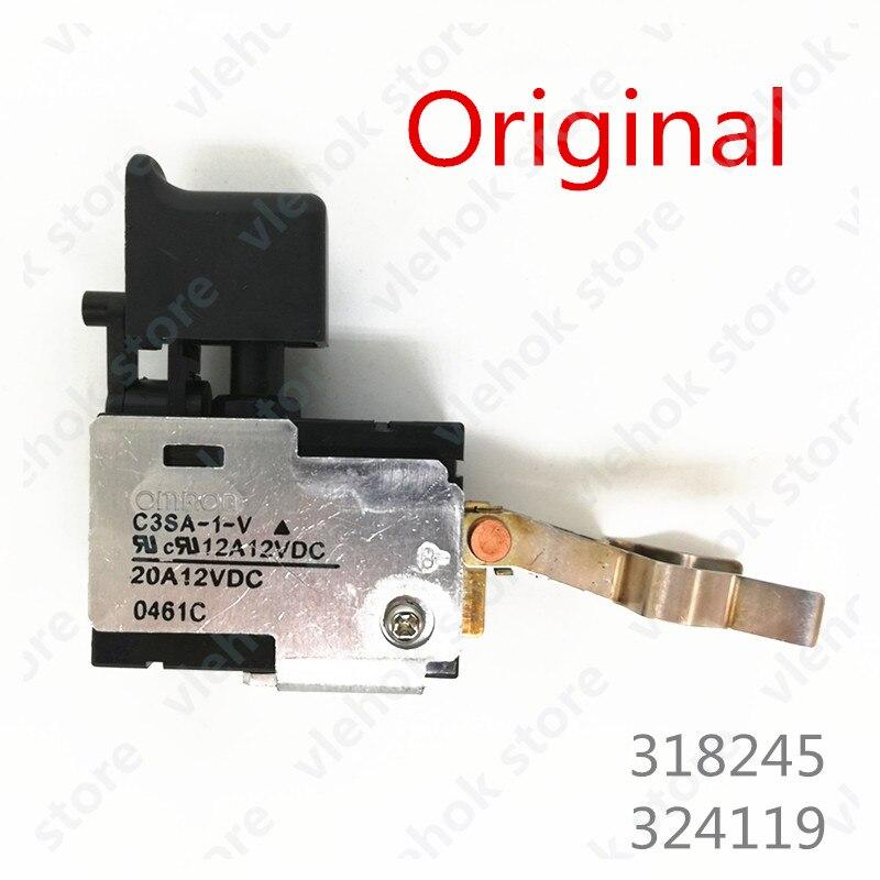 12V 9.6V Switch 318245 324119 For HITACHI FDS9DVA FDS12DVA DS9DVF3 DS12DVF3 DS12DVA DS12DVFA DS12DVB2 322-632