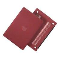 12 Colors Case For Apple Macbook Air Pro Retina 11 12 13 15 Laptop Bag Case