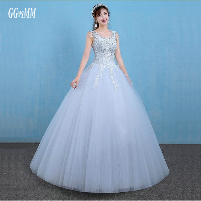 vestido casamento Unique Wedding Gowns Long White 2018 Wedding ...