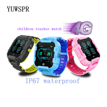 kids GPS Tracker 4G Smart Twatch IP67 waterproof WIFI Hotspot camera LBS Location Children watches gift DF39 1pcs