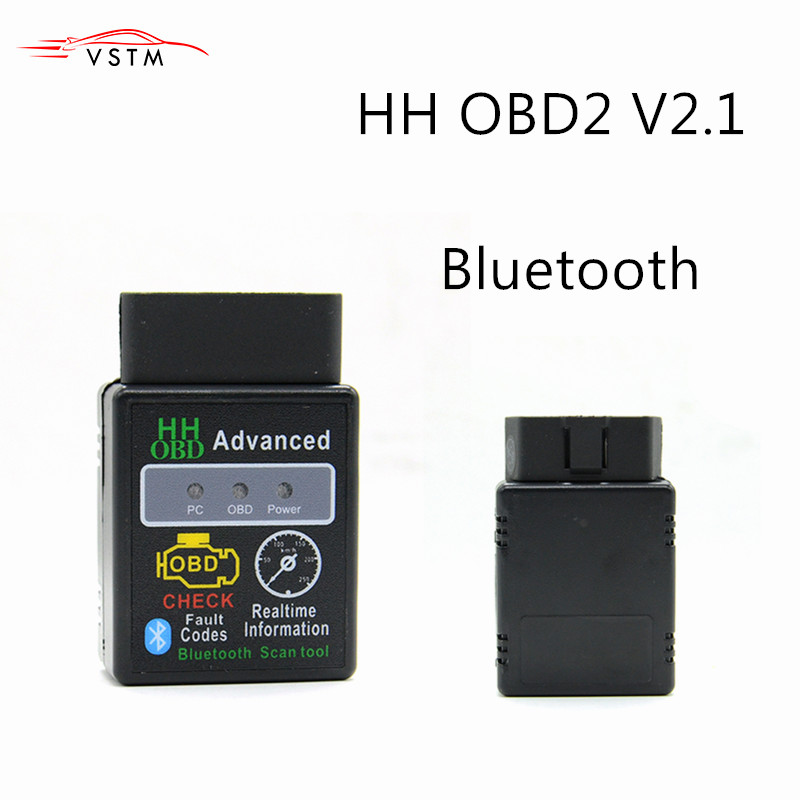 HH OBD ELM327 Bluetooth OBD2 OBDII KÖNNEN BUS Check Engine Auto Auto Diagnose Scanner Tool Interface Adapter Für Android PC