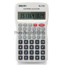 2016 Rushed Real Calculator Graphic Led Calculator Scientific Deli 1722 Slim Time And Date Display For Students Free Shipping