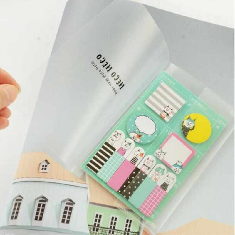 Animais de Partido Memo Pad N Vezes Sticky Notes Memo Notepad Bookmark Presente Stationery Office & School Suprimentos
