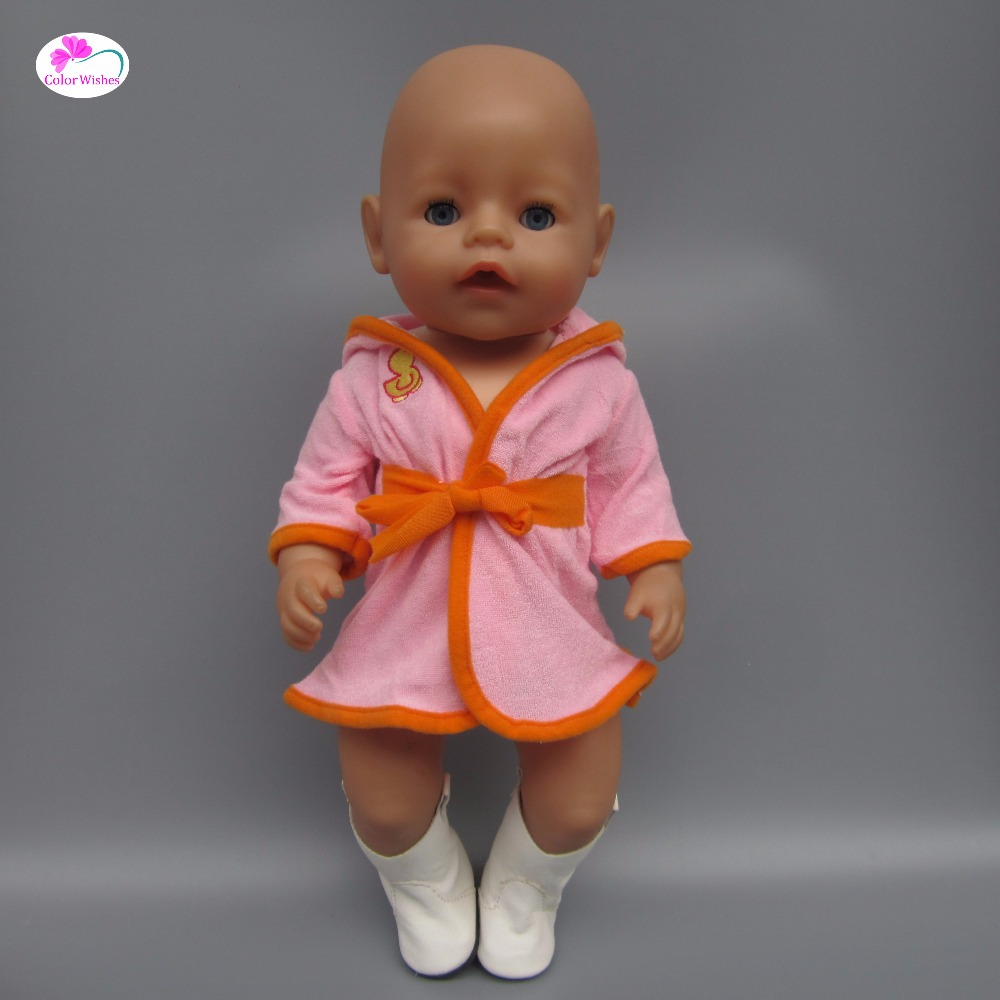 Clothes for doll fits 43 cm Zapf Baby Doll Born dolls accessories Pajamas piece suit Sportswear