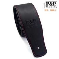 High grade product leather guitar bass leather 160 cm straps instrument accessories