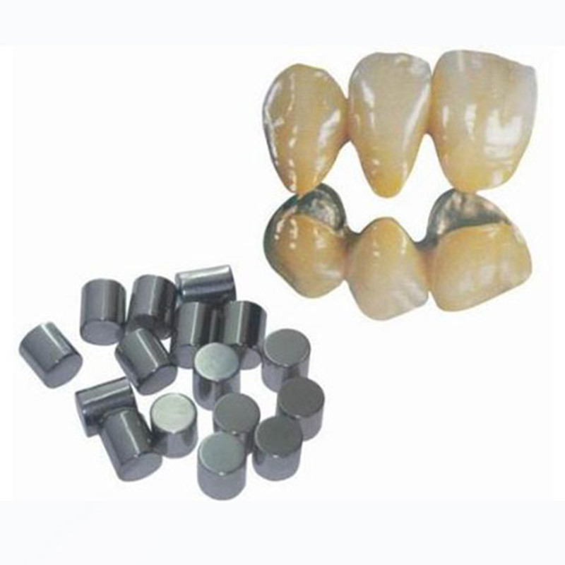 Free shipping 1kg/box Dental Lab Material Nickel Chromium Base Ceramic Alloy with Beryllium for Ceramic Restorations 1box 1kg or so new dental lab non precious nickel chromium alloy metal for full cast crown bridge