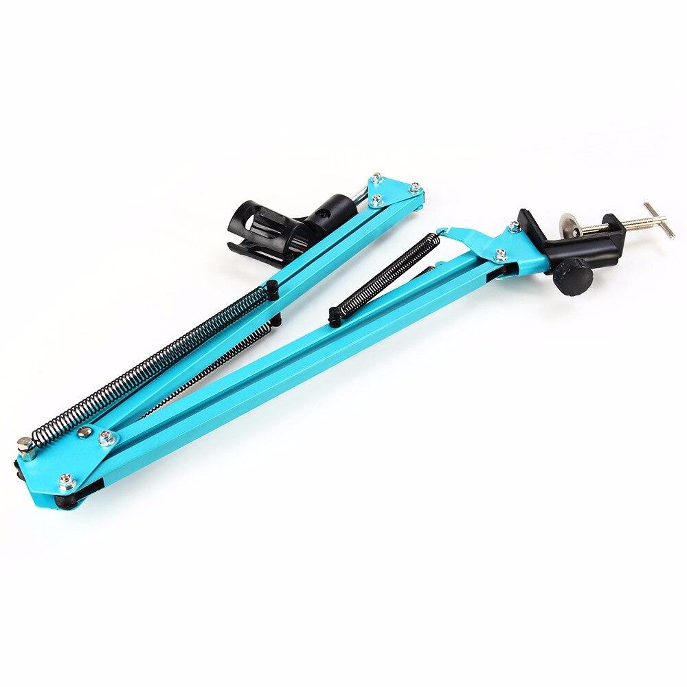 Heimelektronik Zubehör KüHn Nb-35 Mikrofon Scissor Arm Stehen Und Tisch Montage Clamp & Nw Filter Windschutz Schild & Metall Mount Kit