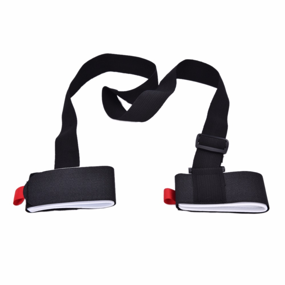 Adjustable Nounting Ski Pole Shoulder Hand Carrier Lash Handle Straps Porter Hook Loop Durable High Quality Snowboard Bag