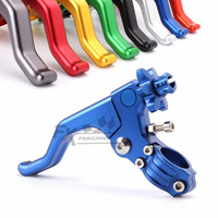7/8 CNC Stunt Clutch Lever Pull Cable Perch System For Suzuki DRZ400SM DRZ 400SM 2005 2006 2007 2008 2009