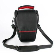 DSLR Камера сумка для Canon EOS 4000D M50 M6 200D 1300D 1200D 1500D 77D 800D 80D Nikon D3400 D5300 760D 750D 700D 600D 550D