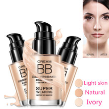 Base BB Cream Persistent Cover Shake Powder Foundation Whitening Moisturizing Concealer Invisible Pores Makeup Maquiagem Cream(China)