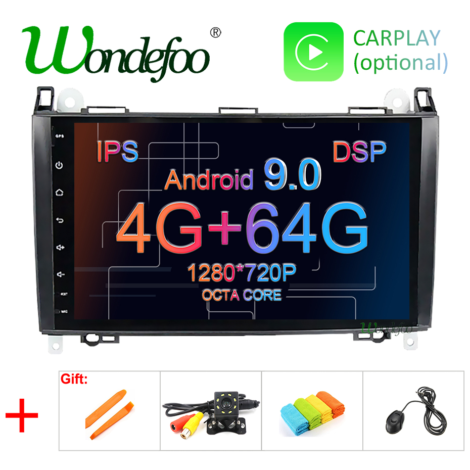 9 DSP IPS Android 9 0 4G 64G Car GPS For Mercedes Benz Sprinter B200 B