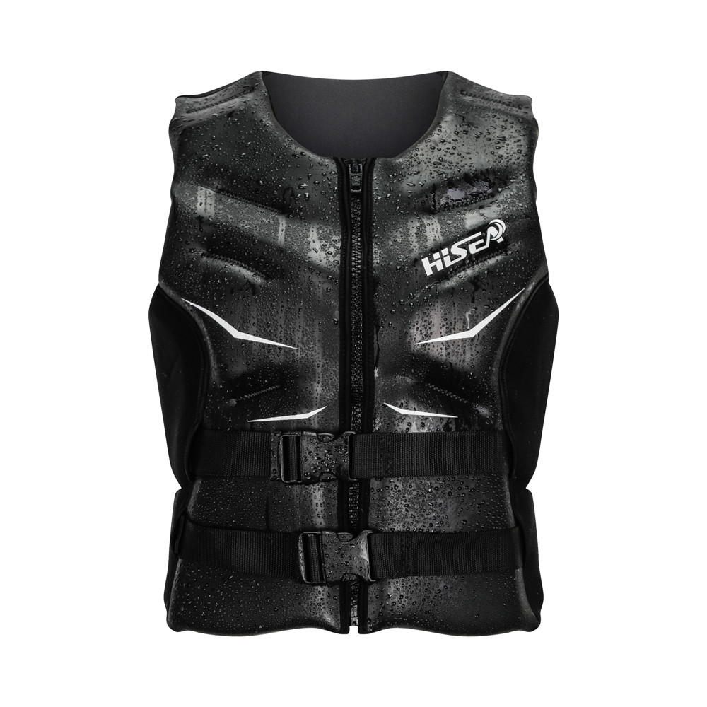 Hisea New Women Men Floating Water Clothes Neoprere Quality Smooth shin Boating Life Jacket uoyancy Vest Surfing Fishing Rafting