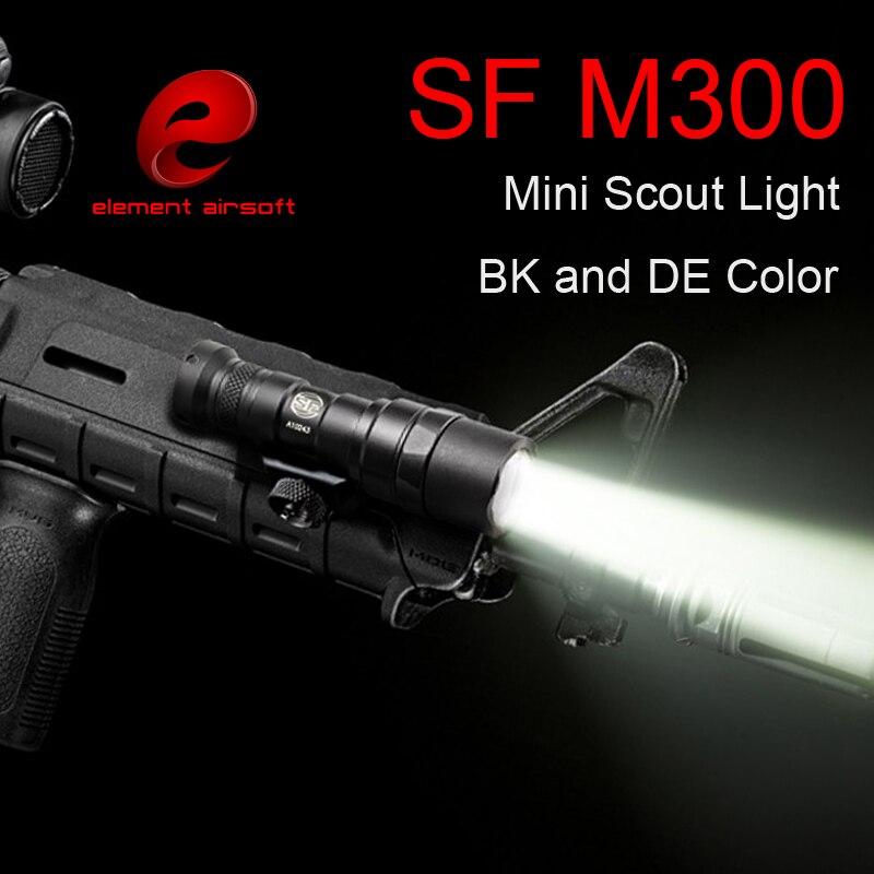 Element Arma Softair Airsoft Arme Surefir M300 MINI SCOUT LIGHT - Vânătoare