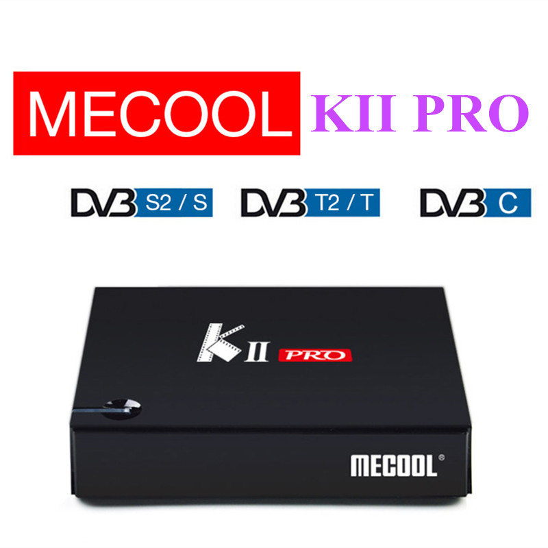 MECOOL KII PRO Android 7.1 Smart TV Box Amlogic S905D CPU Wireless Set Top Box Support 2.4 / 5GHz WiFi 4K H.265 Bluetooth 4.0