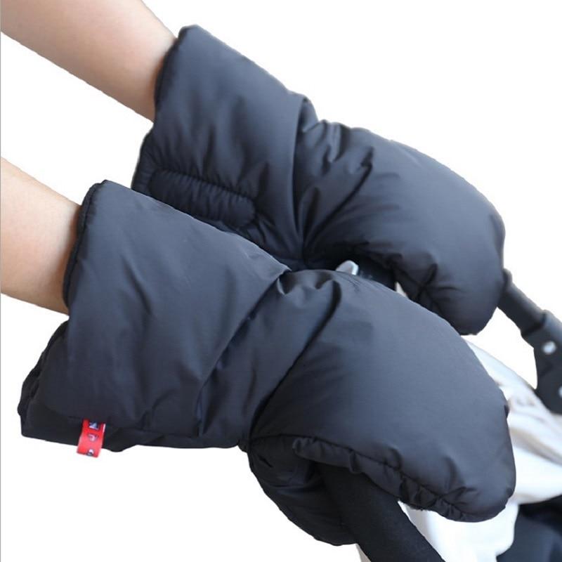JOYREN Baby Stroller Clutch Pushchair Hand Muff Waterproof Warm Gloves Aksesori Pram Bayi Carriage Glove Buggy Clutch KF078