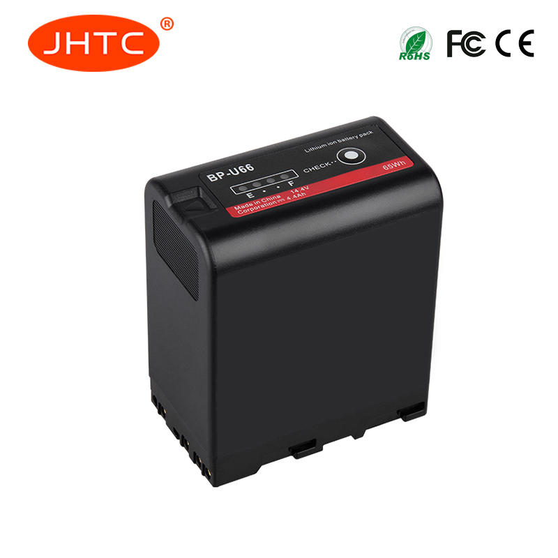 JHTC 1 pz 6600 mah Batteria per Sony BP-U60 U30 U62 BP-U65 BP-U66 BP-U90 BP-U95 PMW-100 PMW-200-F3K PMW-EX1 PMW-EX1RJHTC 1 pz 6600 mah Batteria per Sony BP-U60 U30 U62 BP-U65 BP-U66 BP-U90 BP-U95 PMW-100 PMW-200-F3K PMW-EX1 PMW-EX1R