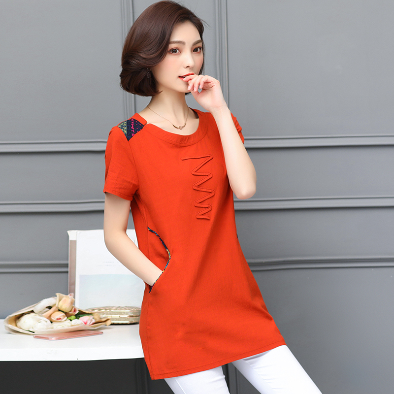 Nkandby Plus size Ladies Tops Summer Korean Women Clothing Slim Cotton Short sleeve 5XL 4XL Big size T shirt Regular Tees Female 44
