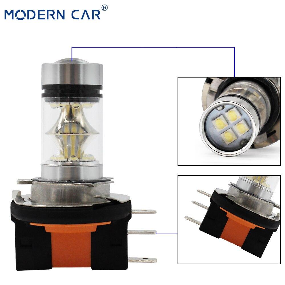 MODERN CAR LED Car Lights H11 H7 H1 9005 9006 1156 1157 3157 Fog Light Headlight Bulb CR XHP 50 Fog Lamp Bulbs 20 SMD Combo in Car Headlight Bulbs LED from Automobiles Motorcycles