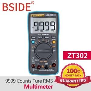 Image 4 - BSIDE ZT301 ZT302 Digital Multimeter 8000 9999 Counts True RMS Multifunction AC/DC Voltage Temperature Capacitance Tester DMM