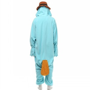 Image 5 - Unisex Perry Thú Mỏ Vịt Trang Phục Onesies Quái Vật Cosplay Đồ Ngủ Dành Cho Người Lớn Pyjamas Động Vật Ngủ Jumpsuit