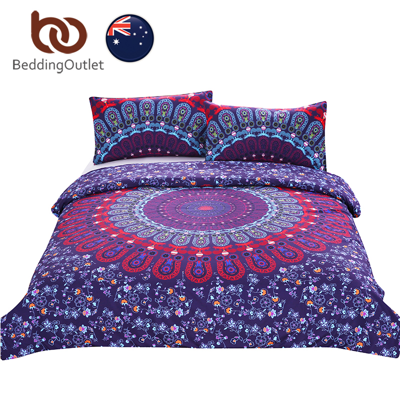 love stretches bedding bohemian style retro duvet cover and pillowcase twill au single double queen