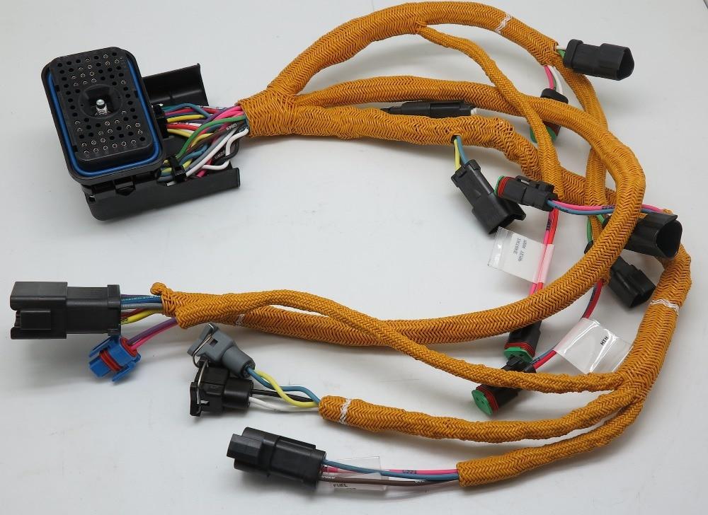 excavator diesel engine parts 195 7336 wiring harness for rh aliexpress com caterpillar ecm wiring harness caterpillar radio wiring harness