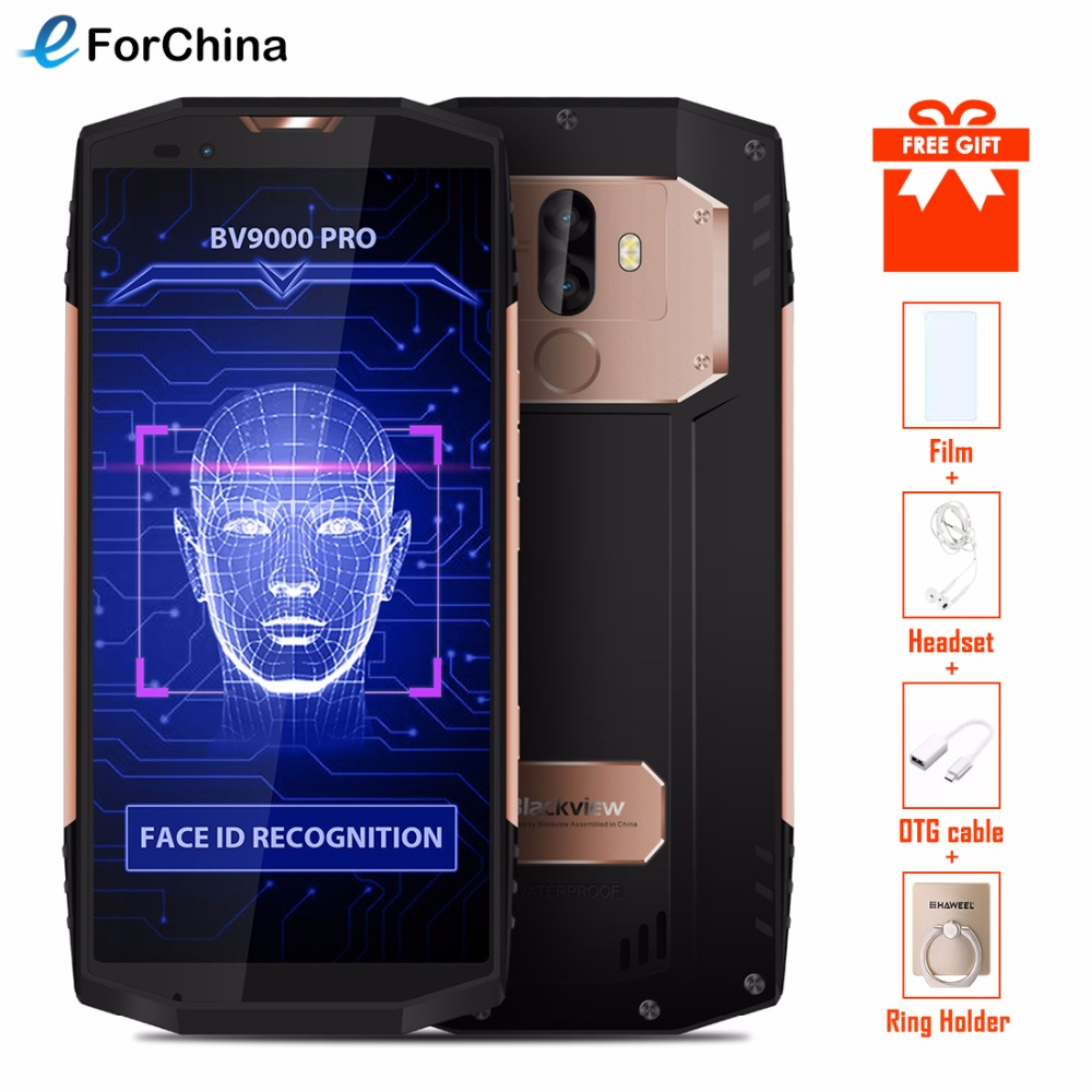 """Blackview BV9000 Pro 5.7"""" HD IP68 Waterproof Phone MTK6757CD Octa Core Android 7.1 6GB RAM 128GB ROM Shockproof Smartphone OTG-in Cellphones from Cellphones & Telecommunications    1"""