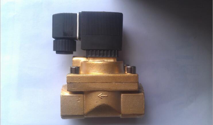 1 inch High Pressure Solenoid Valve High Temperature 5404-04 PTFE DC12V,D24V,AC110V or AC220V